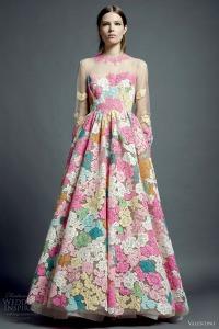 valentino-resort-2013-multi-color-lace-dress-illusion-long-sleeves